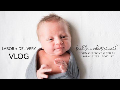 Lachlan's Birth