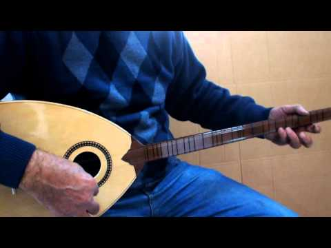 ROJWAN :: KURDISH STRING INSTRUMENT ACOUSTIC BOUZOUK BUZUQ WITH MONO JACK