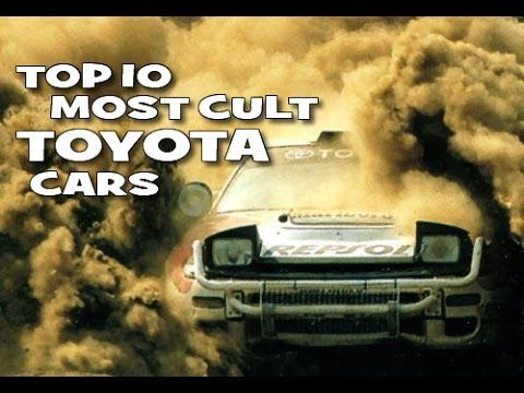 Top 10 most cult \ best \ coolest Toyota...