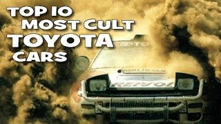 Top 10 most cult \ best \ coolest Toyota cars