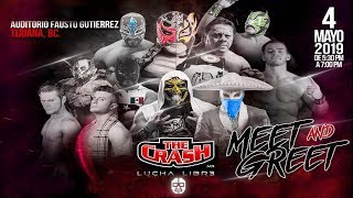 | #TheCrashLuchaLibre | Adrian Quest vs BlackDanger vs Soberano Jr | Triangular |