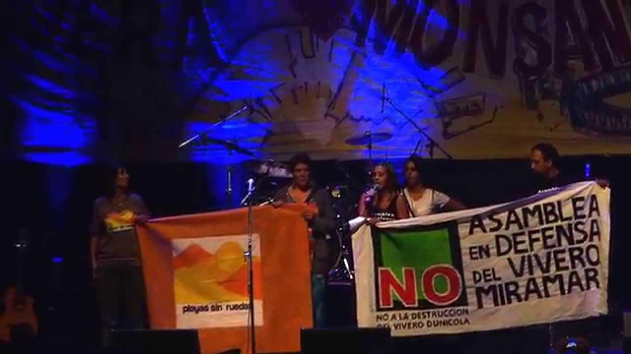 Recital manu chao mar del plata 2015 asamblea en defensa for Viveros en la plata