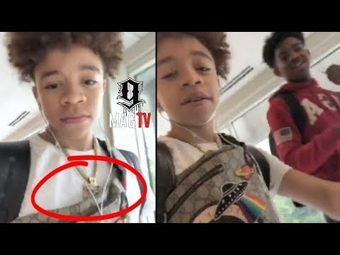 T.I. Son King Dares A Senior To Snatch His Chain! 👑