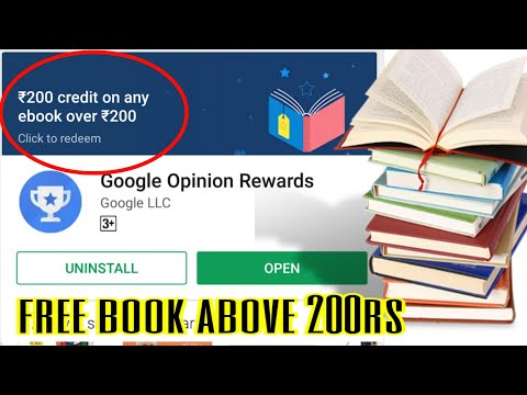 Buy Free Ebook From Google Play Store | How To Buy Free 200rs Free Ebooks| Google Opinions Rewards