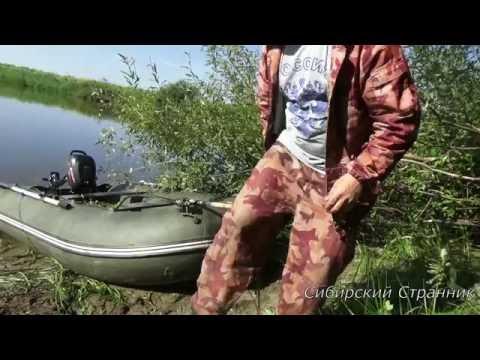 Рыбалка на удочки летом на реке Каргат.