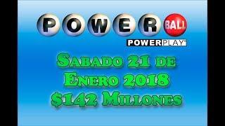 Gambar cover Resultados Powerball 21 Abril 2018 $142 Millones Powerball en Español