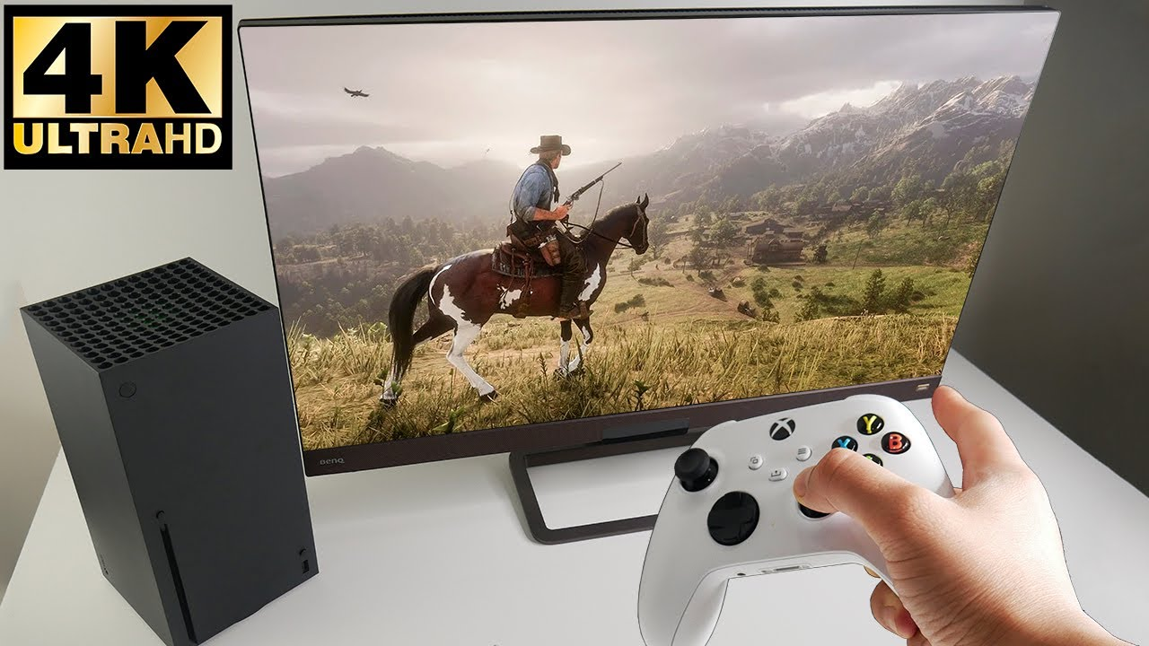 Red Dead Redemption 2 on Xbox Series X 4K UHD