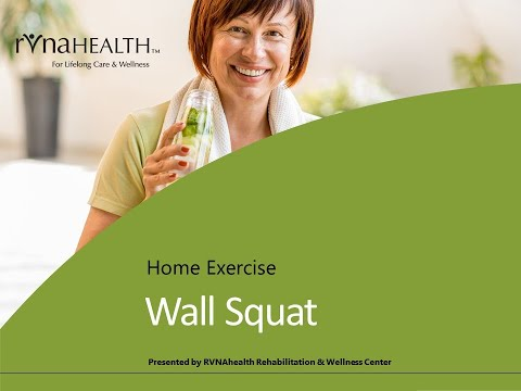 HEP Wall Squat