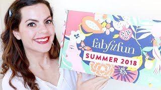 FabFitFun SUMMER 2018 UNBOXING | Reveal + Review | BEST Subscription Box EVER?!