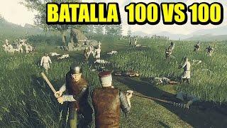Batallas Masivas OF KINGS AND MEN Gameplay Español