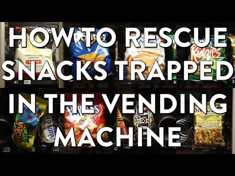 how to get free food from a vending machine