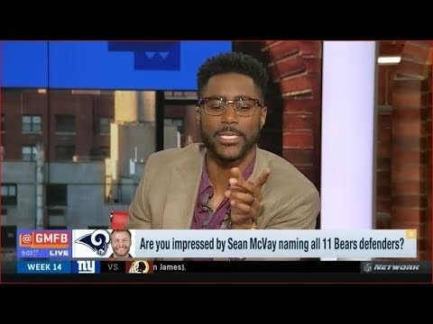 Are you impressed by Sean McVay naming all 11 Bears defenders?