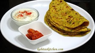 Mooli Paratha Recipe-Mooli ka Paratha-Radish Bread-Easy and Quick Mooli Paratha