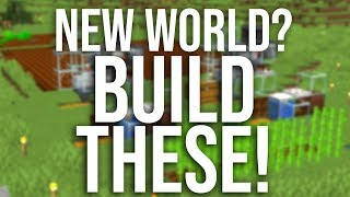 The Best Starter Farms For a New Minecraft World