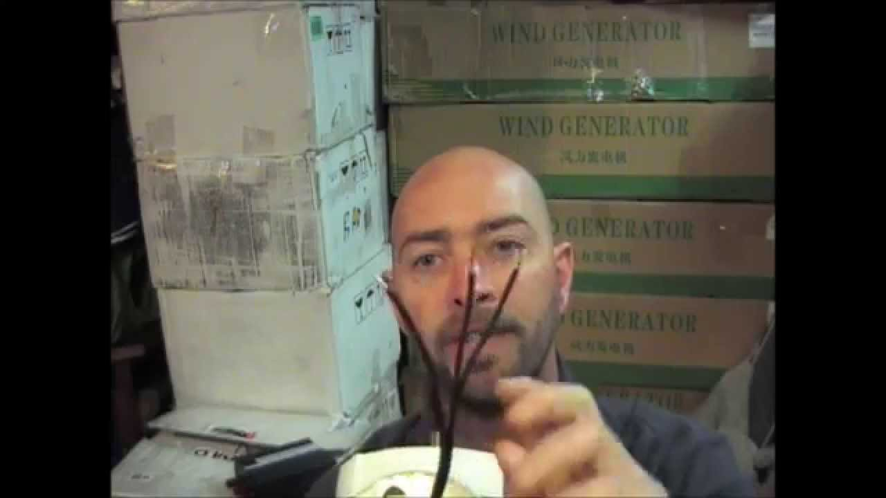 How To Wire A 3 Phase Wind Turbine Generator Youtube With Shunt Circuit Diagram On Grid Tie Wiring