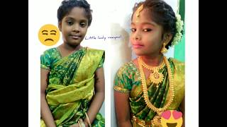 How to wear saree for 7 yr old…