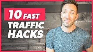 Increase Website Traffic in Minutes: 10 Quick Tactics