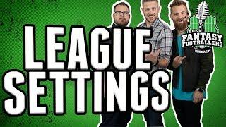 A More Fair Fantasy Football League Format?