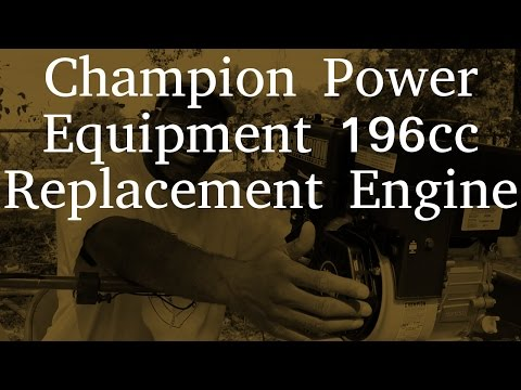 Champion Power Equipment 196cc Replacement Engine