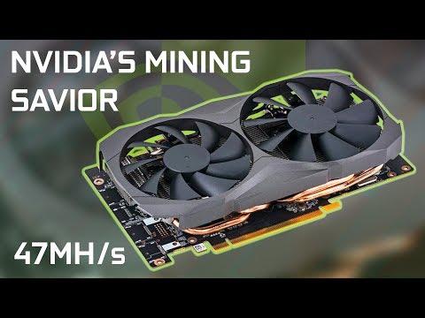 New Dedicated Mining GPU From Nvidia!