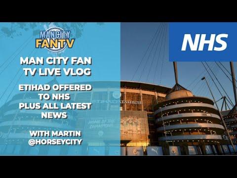 MAN CITY FAN TV LIVE - LATEST NEWS AND REMINDER FOR RACE NIGHT TONIGHT #mcfc #mancity #NHS