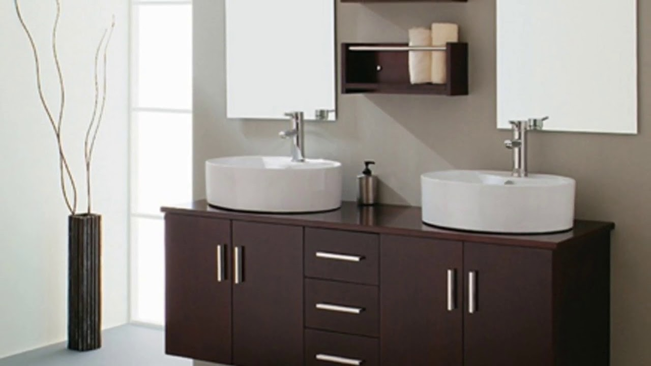 Double Vanity Cabinets For Bathroom Home Ideas