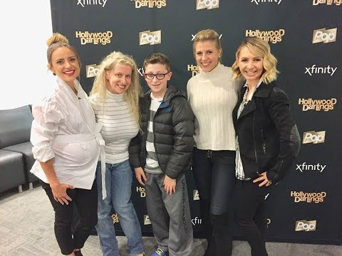 With the cast of Hollywood Darlings Jodie Sweetin Beverley Mitchell and Christine Lakin 🌟🌟