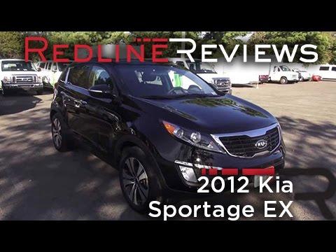 2012 Kia Sportage EX Review, Walkaround, Exhaust, Test Drive   YouTube