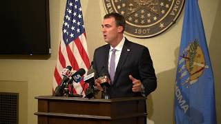 Gov. Stitt announces CARES Act funding portal
