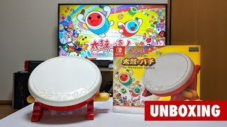 Taiko no Tatsujin UNBOXING for Nintendo Switch | 太鼓の達人 任天堂スイッチ