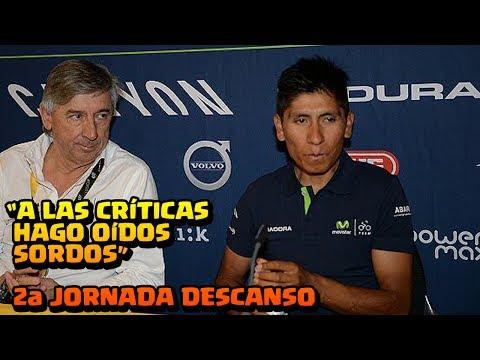 Nairo Quintana   2a Jornada de Descanso   Rueda de Premsa   TOUR DE FRANCIA 2017