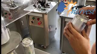 SVC10 반자동 음료 캔 시밍 머신, 수동 주스 캔 …