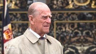 Prinz Philip geht in Rente! Letzter Auftritt! Bye bye!