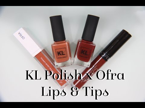 KLPolish X Ofra: Lips and Tips