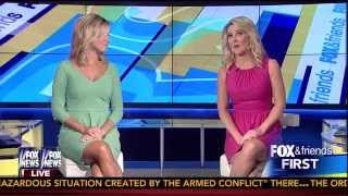 Ainsley Earhardt & Heather Childers 08-01-14
