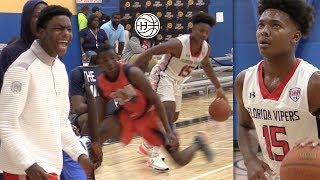 KJ Fitzgerald DESTROYS ANKLES in His LAST AAU Tournament!! Back with Florida Vipers!