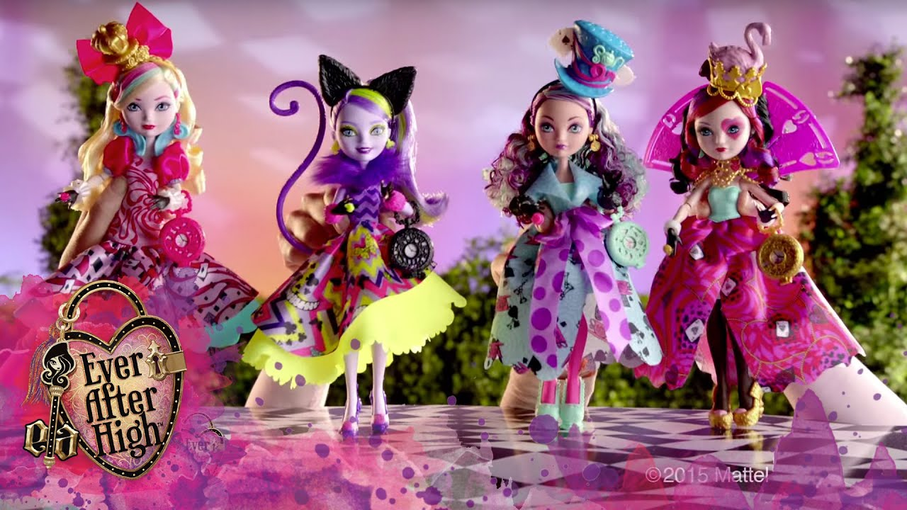 Way Too Wonderland Dolls TV Commercial Ever After High
