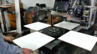 Lusso - banmakser LRS 25x35  semi auto  - 4 manuel table system