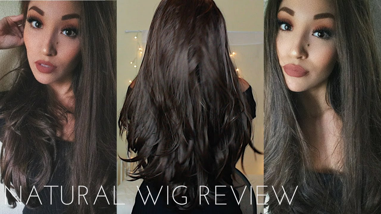 Uniwigs Natural Brunette Lace Front Synthetic Wig Review