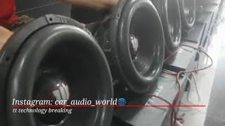 Subwoofers tt technology X4