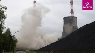 Wyburzenie chłodni kominowej Elektrownia Łagisza, Grupa TAURON