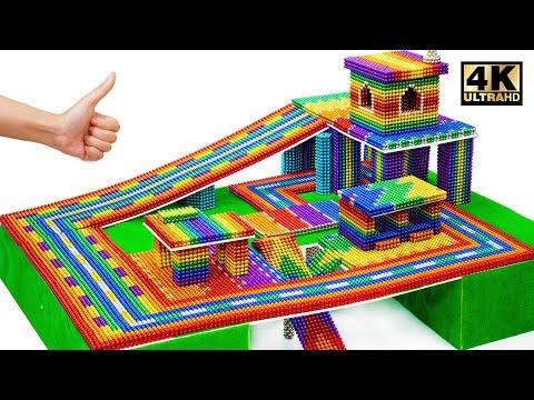 DIY Garage Shelves - Most Expensive Garage From Magnetic Balls (Satisfying Videos)   MW Series