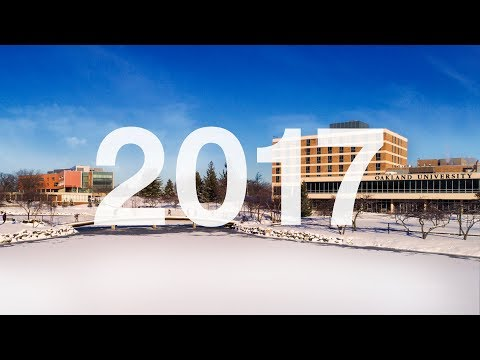 Oakland University 2017 Year In Review