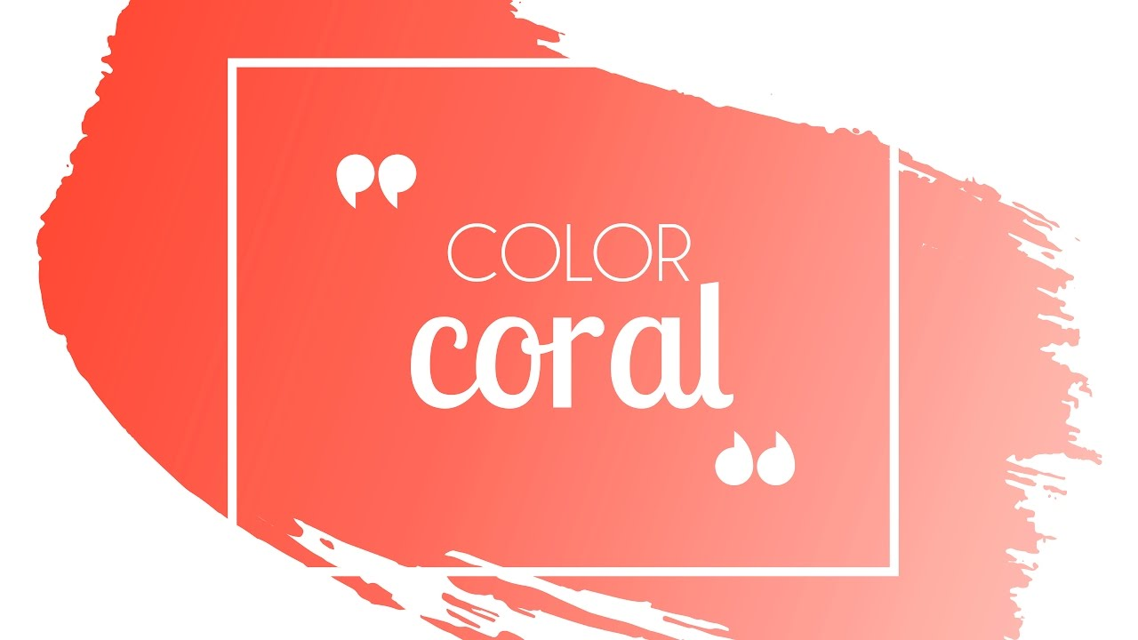 c mo combinar el color coral youtube. Black Bedroom Furniture Sets. Home Design Ideas