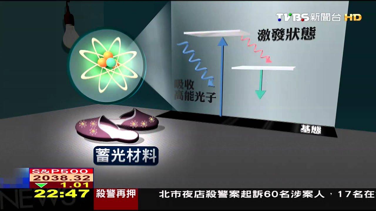 家飾品會發光! 「蓄光紡織」以「光」釋放能量 - YouTube