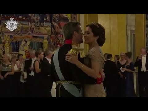 Crown Prince Frederik Dances With Princess Mary At 50th Birthday After Party
