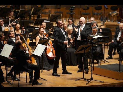 Weber: Concierto para clarinete nº 1 -  Juan Ferrer - López Cobos - Sinfónica de Galicia