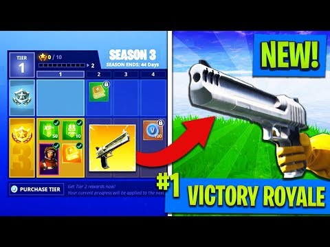 SEASON 3 IS HERE! - NEW WEAPONS, SKINS, & BATTLE PASS REWARDS! (Fortnite: Battle Royale)