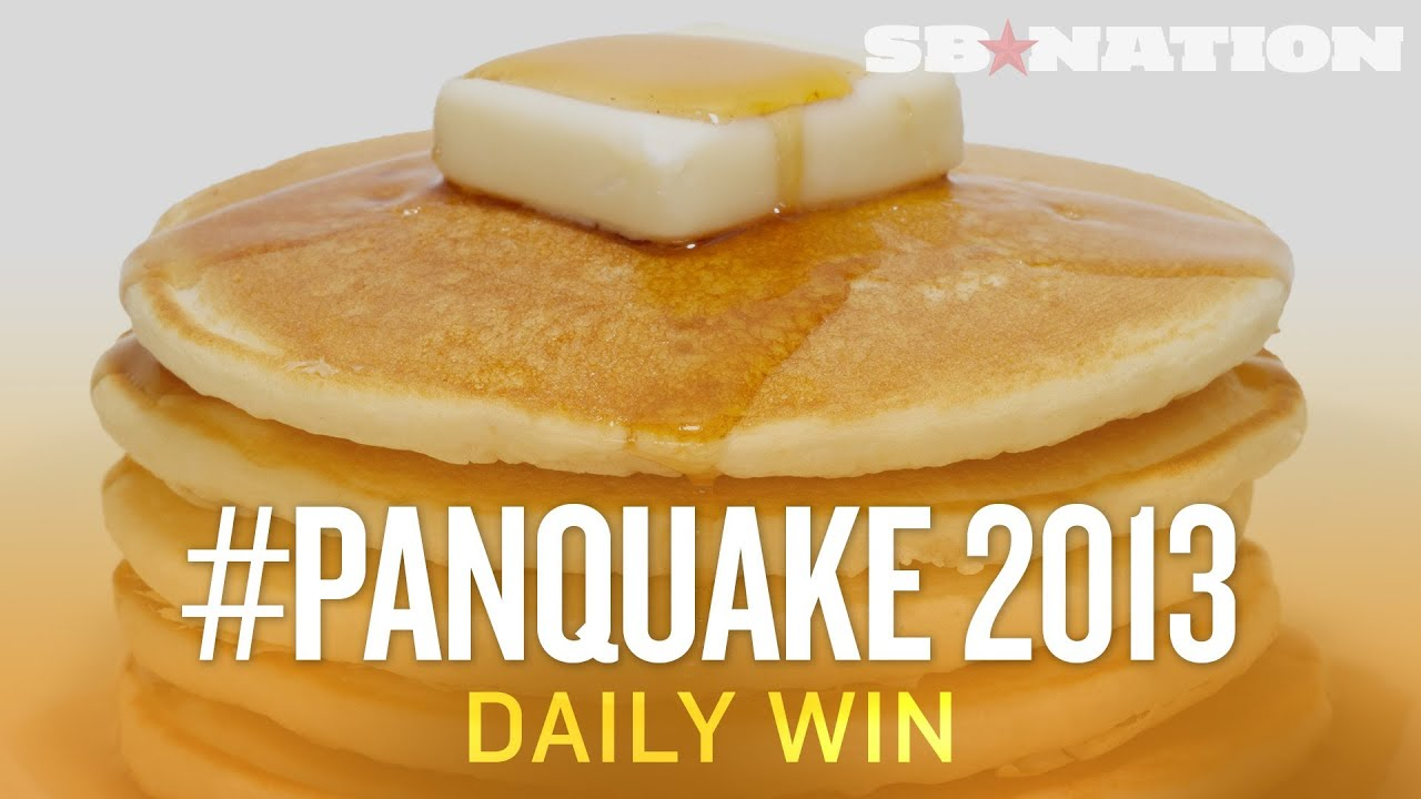 Two Men, One Denny's, 24 hours, Unlimited Pancakes - The Daily Win ...