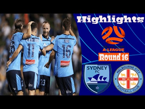 Sydney Melbourne City Goals And Highlights